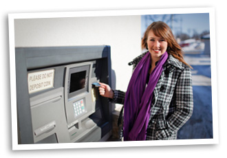 ATM and Visa Debit Cards from First Central Bank